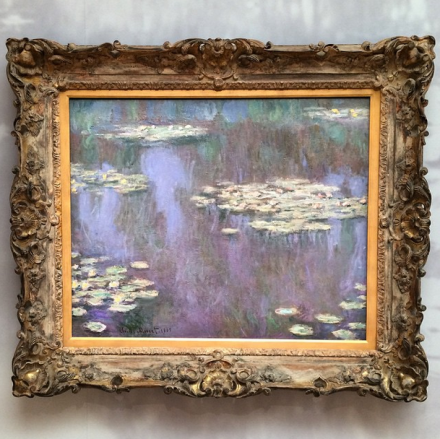 Claude Monet, Nymphéas (1905), via Art Observed
