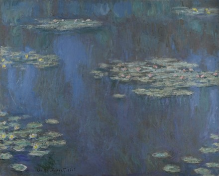 Claude Monet, Nympheas (1905), via Sotheby's