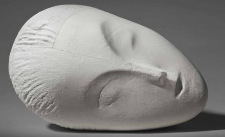 Constantin Brancusi, La Muse Endormie I (1912), via Christie's