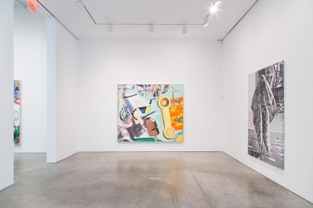 David Salle, New Paintings (Installation View), via Skarstedt