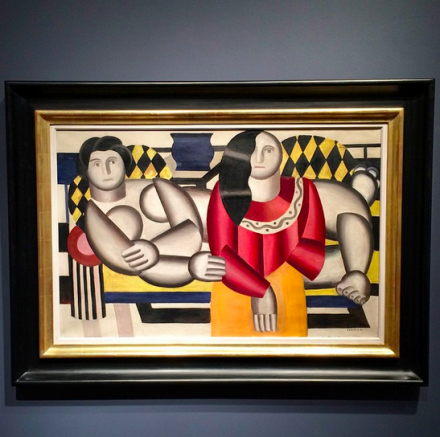 Fernand Léger, Le Corsage Rouge (1922), via Art Observed