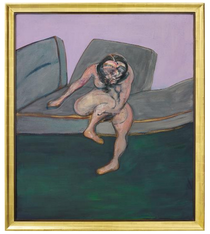 Francis Bacon, Seated Woman (1961), via Phillips