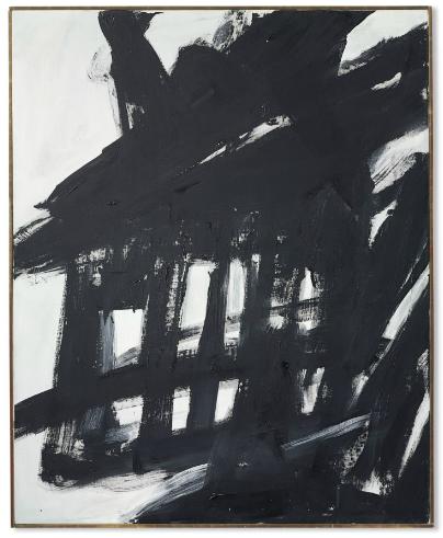 Franz Kline, Steeplechase (1960), via Christie's