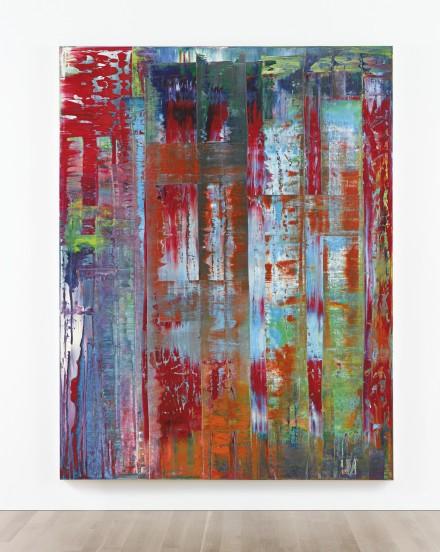 Gerhard Richter, Abstraktes Bild (1992), via Sotheby's