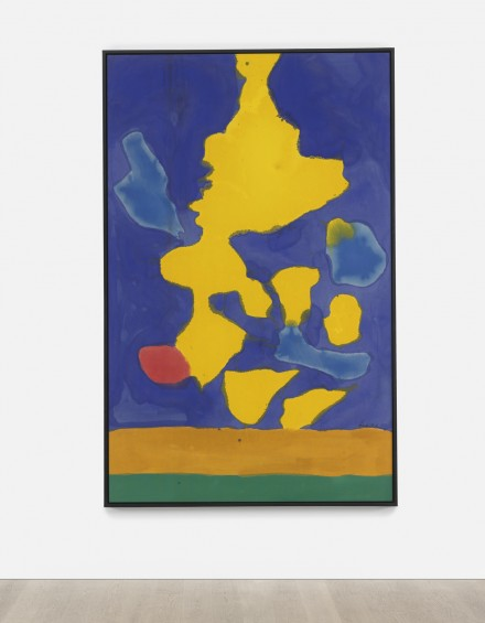 Helen Frankenthaler, Saturn Revisited (1964), via Sotheby's