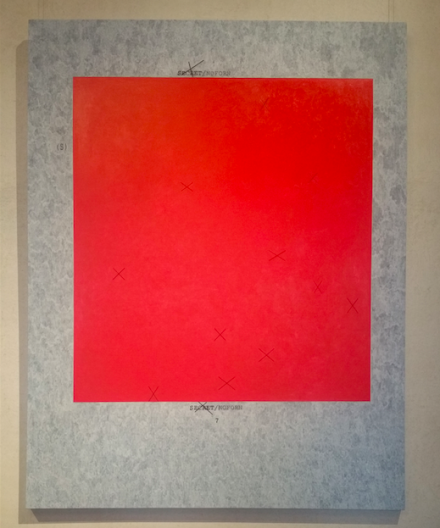 Jenny Holzer, XX 7 (2013), via Art Observed