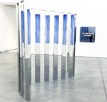 Jeppe Hein, Sine Curve (2015)