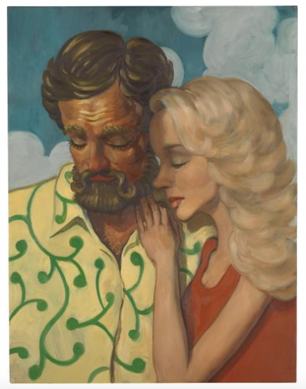 John Currin, The Owens (1994), via Phillips