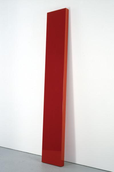John McCracken, Flambeau, (2005), via David Zwirner