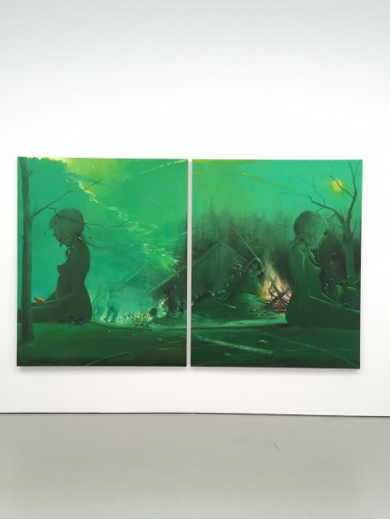 Lisa Yuskavage, Bonfire (2013-2015)