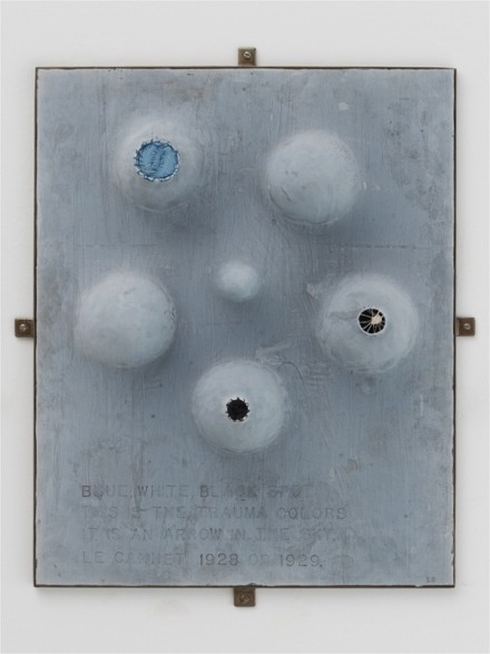 Louise Bourgeois, The Trauma Colours (1999)