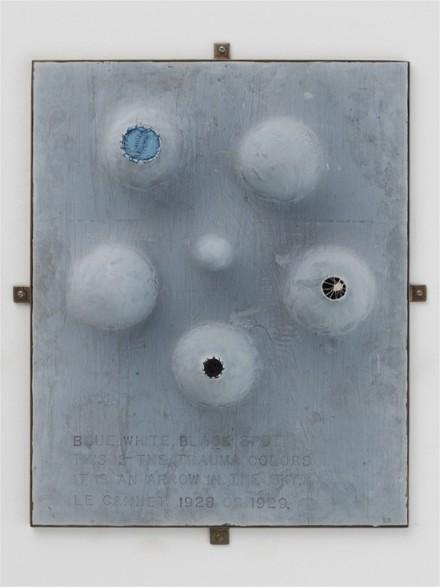 Louise Bourgeois, The Trauma Colours (1999)