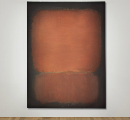 Mark Rothko, No. 10 (1958), via Christie's