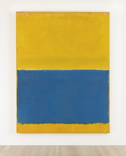 Mark Rothko, Untitled (Yellow and Blue) (1954), via Sotheby's