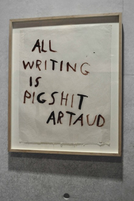 NancySpero-Artaud Paintings - All Writings is Pigshit, Artaud-1970_Puntadelladogana_SK21