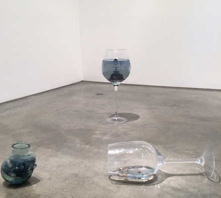 Nina Beier (Installation View), via Art Observed