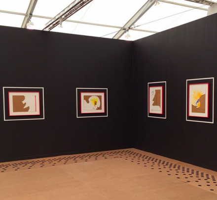 Pace Gallery's Richard Tuttle Exhibition, via Art Observed