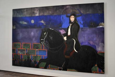 PeterDoig_Horse and Rider_2014_VeniceBiennale_SK