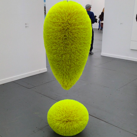Richard Artschwager at Sprüth-Magers, via Art Observed