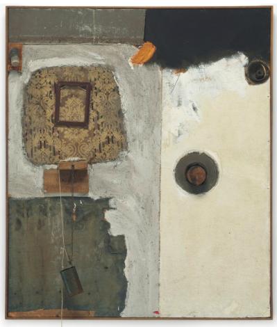 Robert Rauschenberg, Johanson's Paiunting (1961), via Christie's