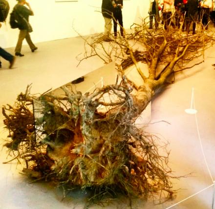 Robert Smithson, Dead Tree (1969), via Art Observed