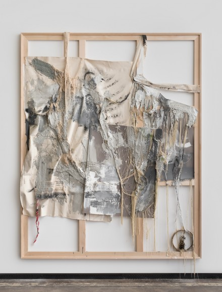 Rosy Keyser, Terrestrial Mime (2015), via Maccarone