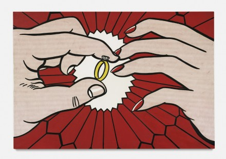 Roy Lichtenstein, The Ring (Engagement) (1962), via Sotheby's