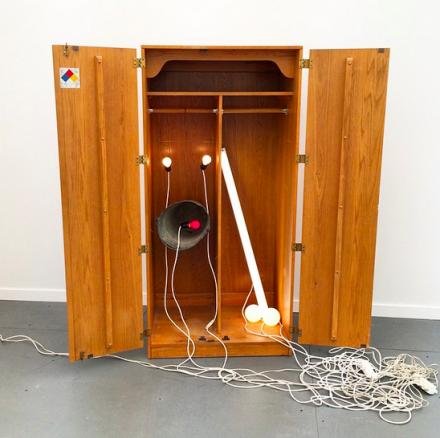 Sarah Lucas at Sadie Coles HQ, via Art Observed