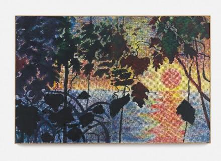 Sigmar Polke, Dschungel (1967), via Sotheby's