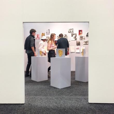 The dimished doorframe of Rod Bianco, via Art Observed