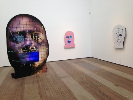 Tony Oursler (Installation View)