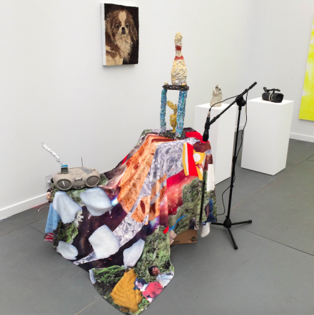 Trisha Baga at Société, via Art Observed