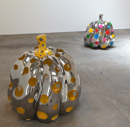 Yayoi Kusama, Give Me Love (Installation View), via Art Observed