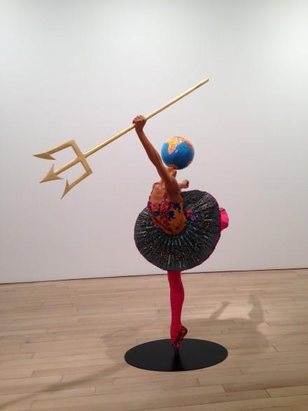Yinka Shonibare MBE, Ballet God (Neptune) (2015)