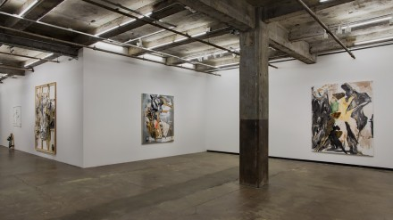 "Rosy Keyser, ""The Hell Bitch"" (Installation View), all images via Maccarone"