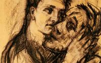 A self-portrait by Alma Mahler, via WSJ