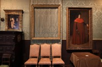 An Empty Frame at the Isabella Stewart Gardner Museum, via Bloomberg