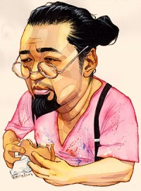 An FT Rendering of Takashi Murakami, via FT
