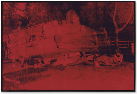 Andy Warhol, Five Deaths (1963), via Christie's