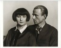 August Sander photographs Otto Dix, via NYT