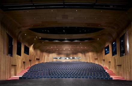 Candida Höfer, Schauspielhaus Düsseldorf I (2012), Image via Sean Kelly Gallery