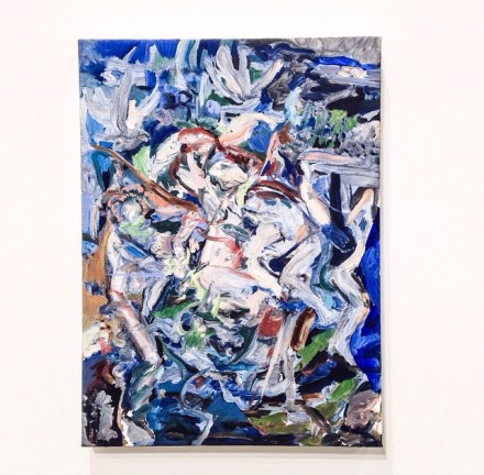 Cecily Brown-The English Garden-Maccarone Gallery (2)