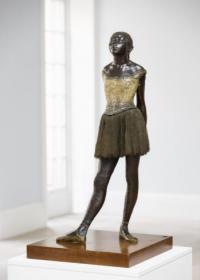 Degas' Petite Danseuse, via Sotheby's