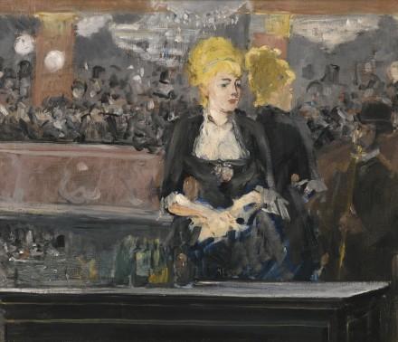 Edouard Manet, Le Bar aux Folies Bergère (1881), via Sotheby's