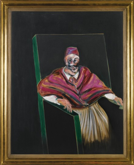 Francis Bacon, Study for a Pope I (1961), via Sothebys