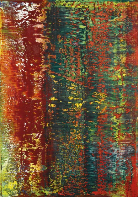 Gerhard Richter, AB Brick Tower (1987), via Sotheby's