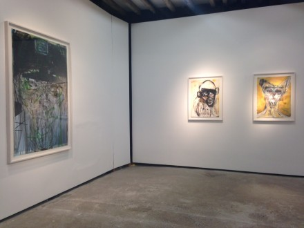 Huma Bhabha at Salon 94 (Installation View)