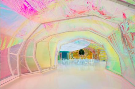 Inside the Serpentine Pavilion, via Serpentine Galleries