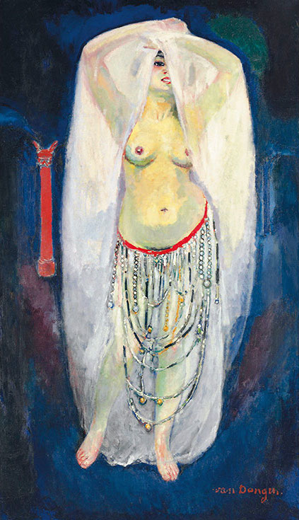 Kees van Dongen, Anita en almée (1908), via Christie's Auction House