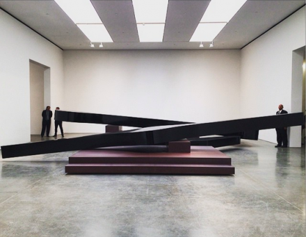 Michael Heizer, Altar 3, via Art Observed